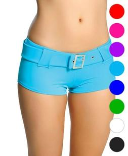 Booty Shorts With Belt - Roma Costume SH101