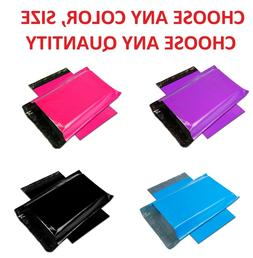 Color POLY MAILERS Shipping Envelopes Self Sealing Plastic M