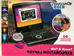 Discovery Teach&Talk Exploration Laptop With Mouse Hot Pink6