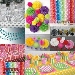 Disposable Colour Spots TABLEWARE & DECORATIONS Catering Wed