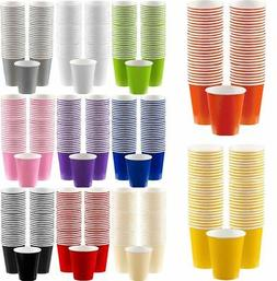 Disposable Paper Coffee Cups 340ml Pack of 40 Birthday Party