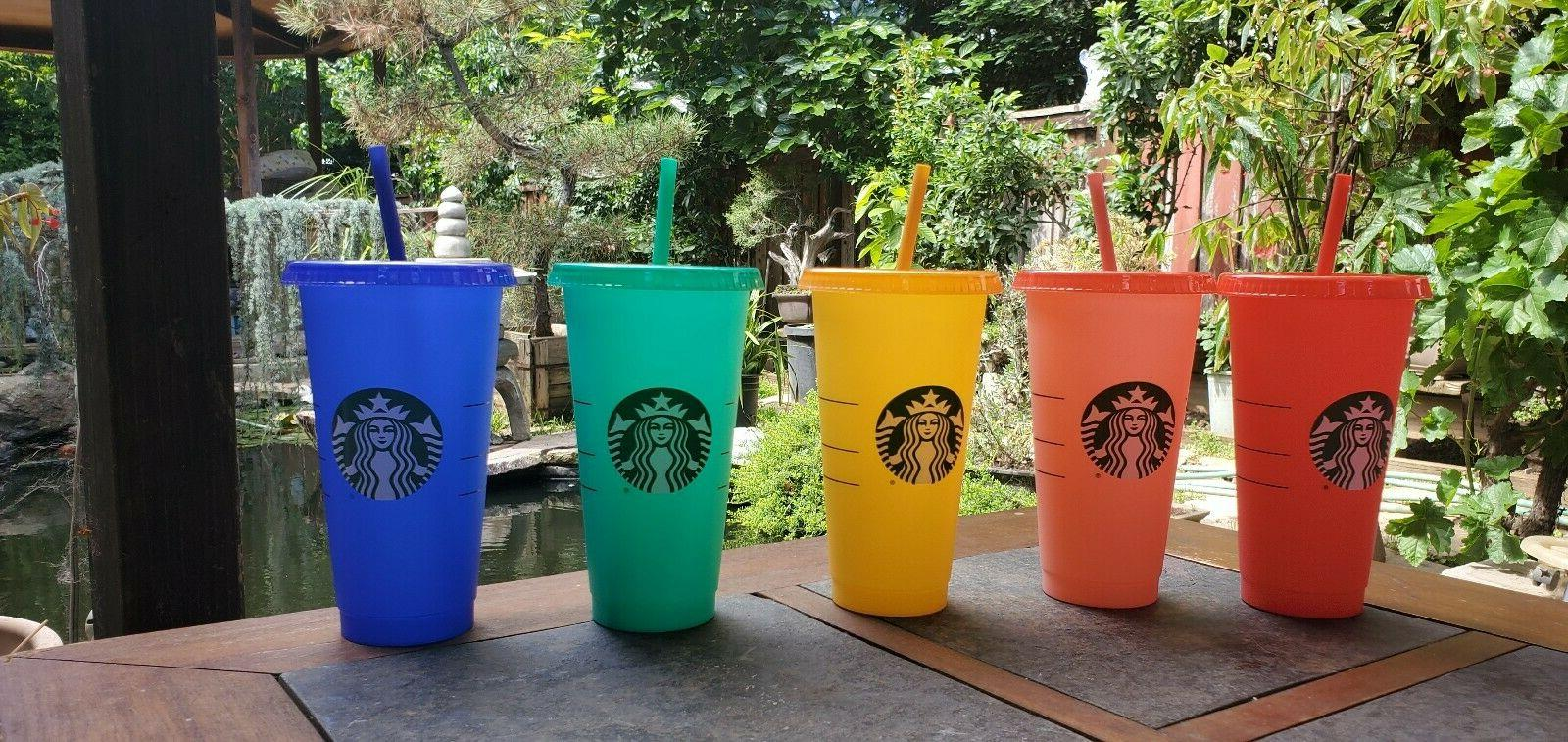 Starbucks Color Changing Summer Pride 2020 COLD Reusable