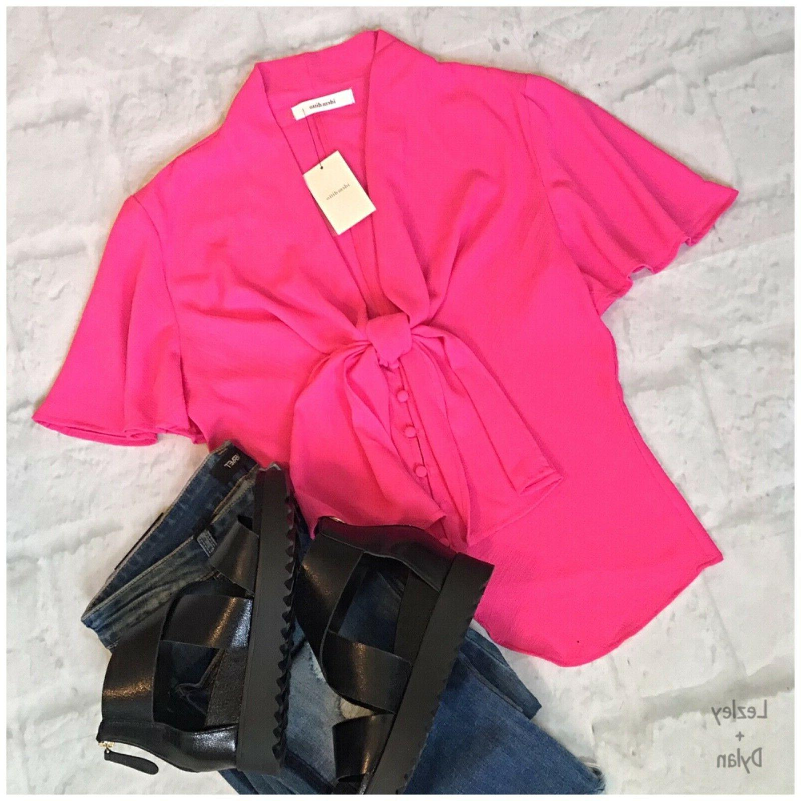 IDEM DITTO Hot Bell Sleeves Top Retails $48