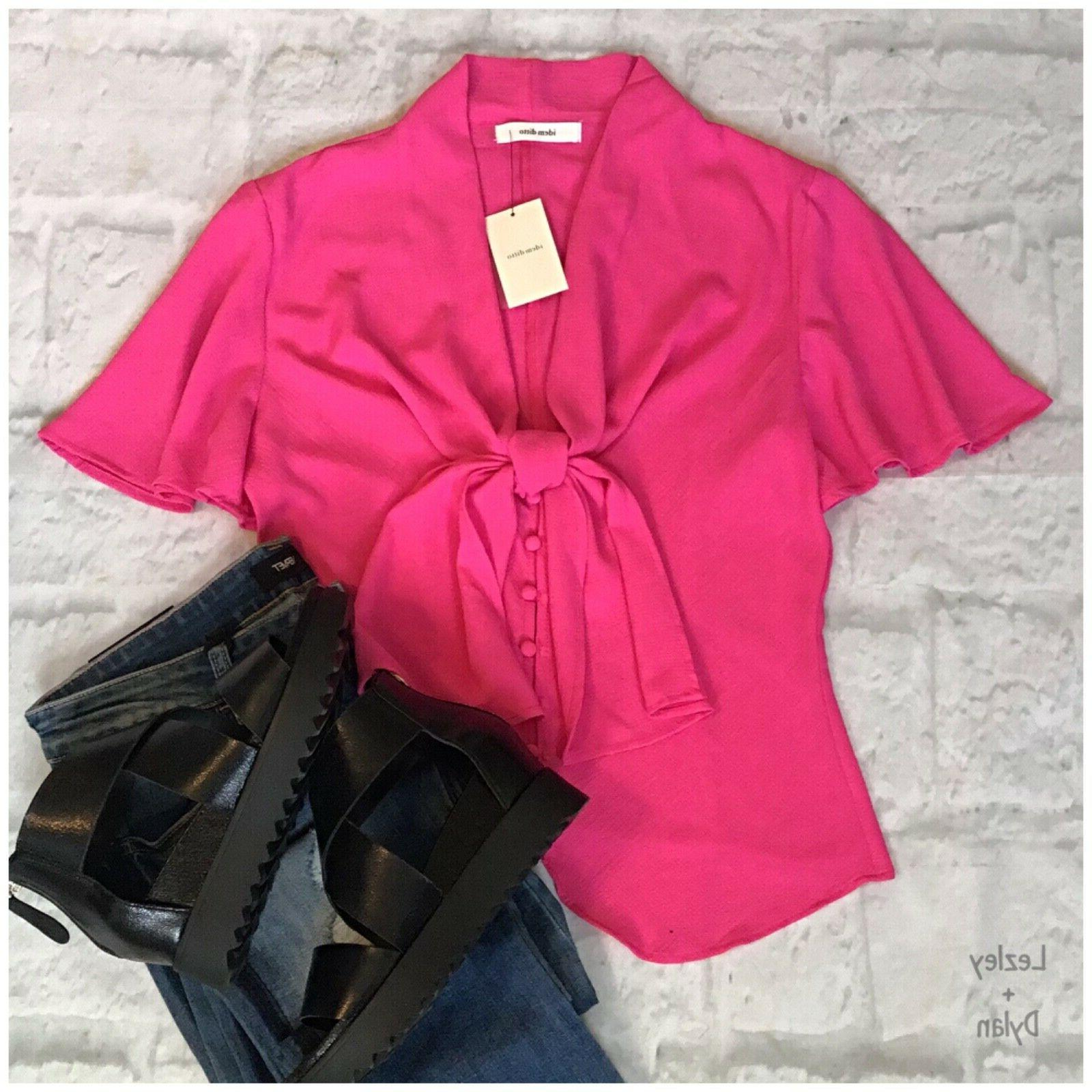 IDEM DITTO Bell Sleeves Top $48