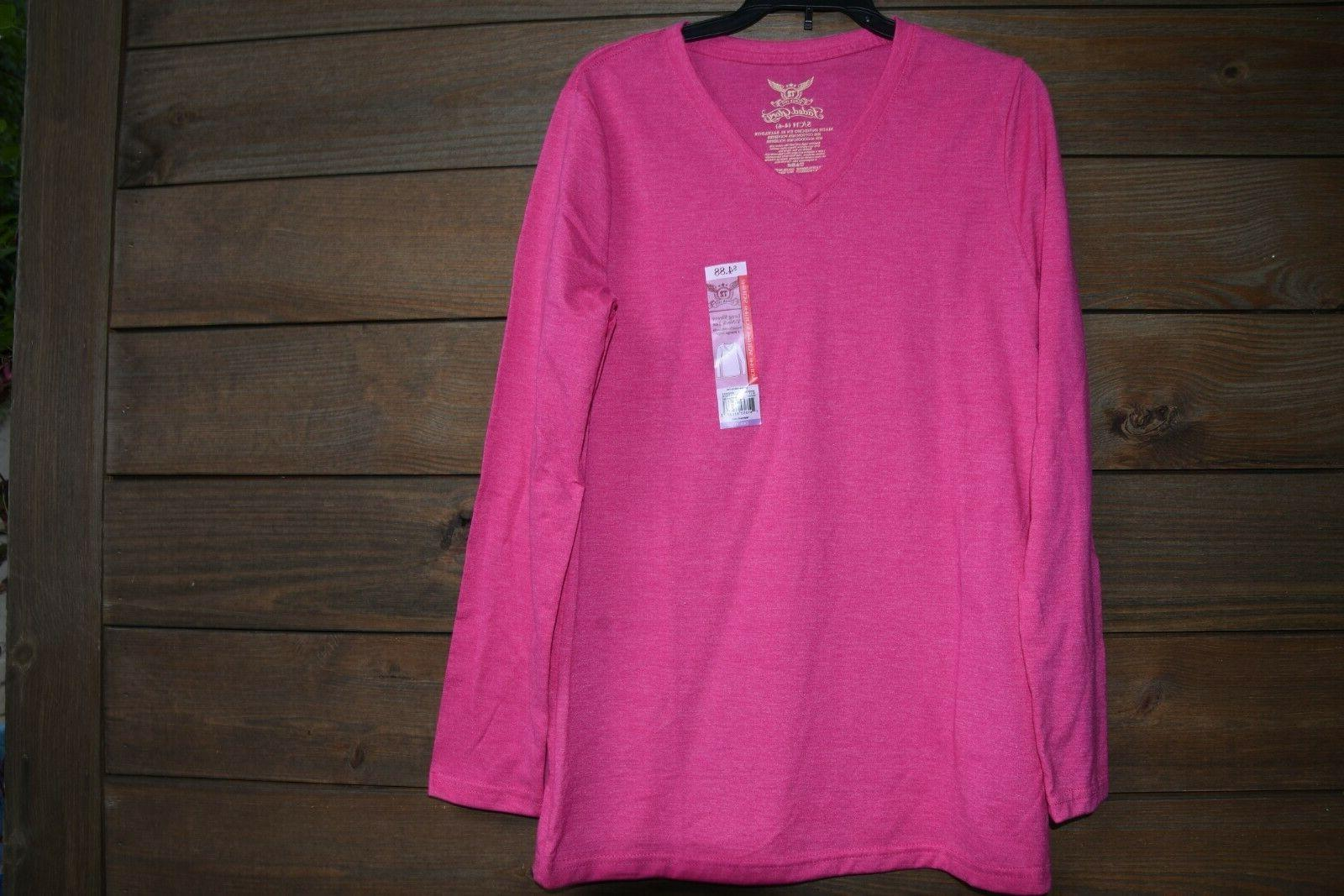 Hot long sleeve Vneck New W/