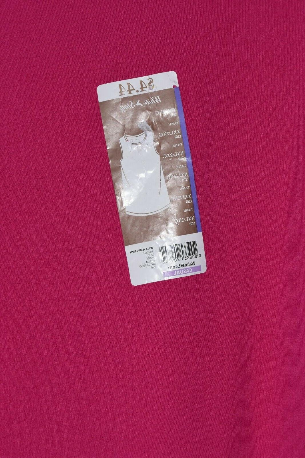 White Sleeveless Tshirt New With Tags XXL Top