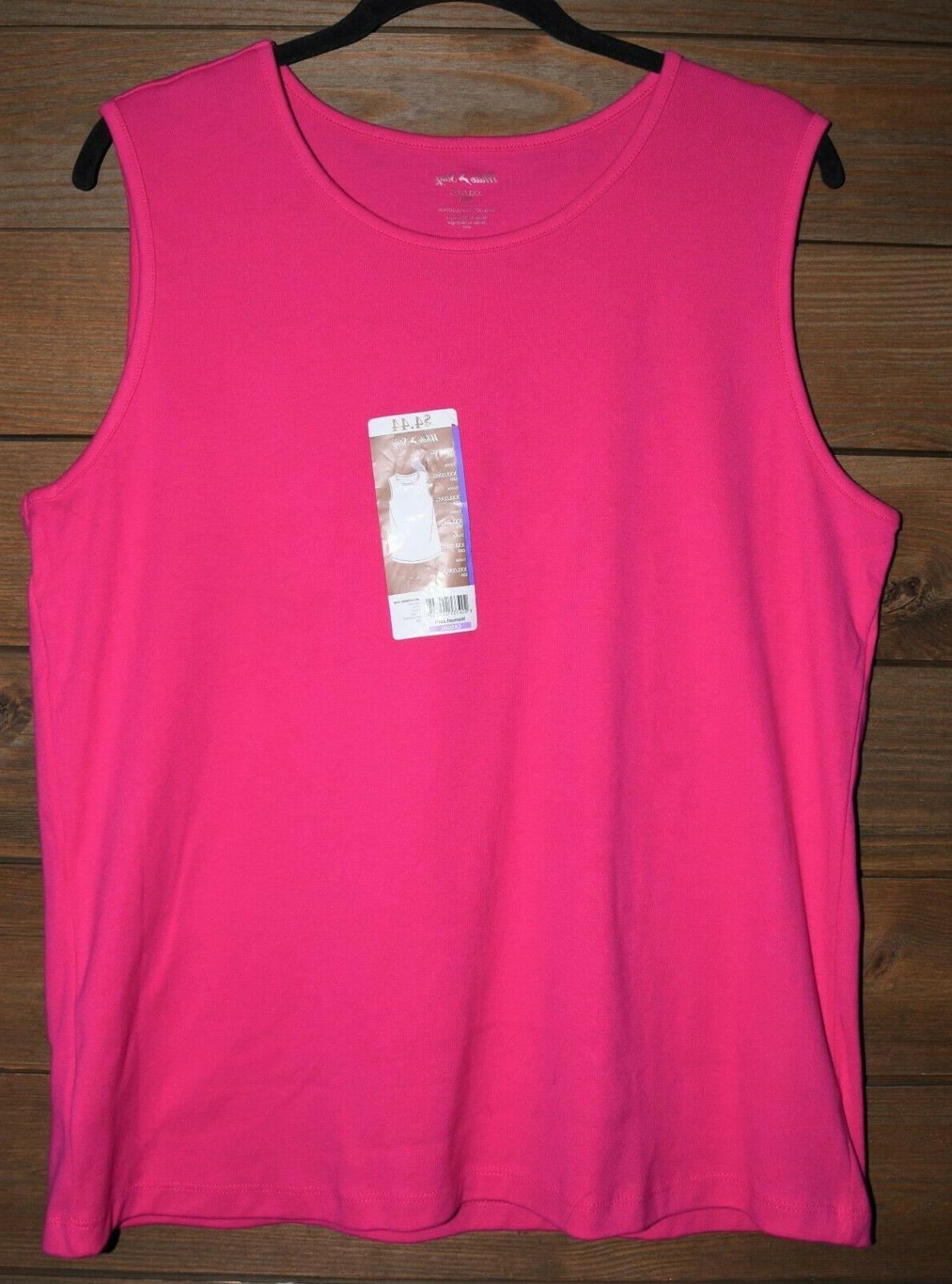 White Sleeveless New With Tags XXL Top