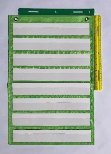 Lime Green Classroom Chart by