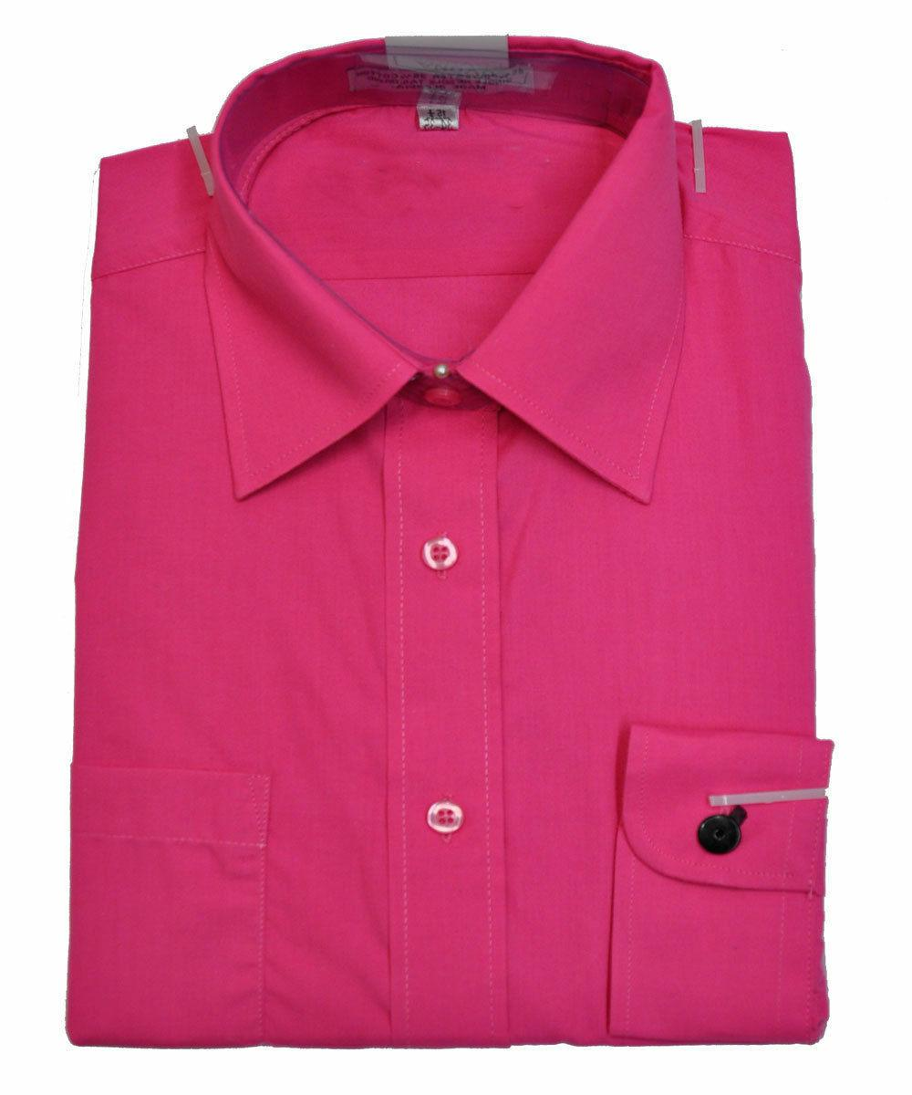 men s hot pink color long sleeve