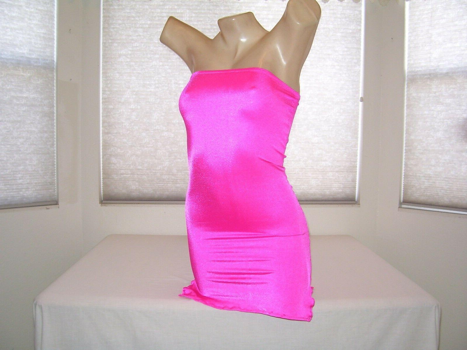 New Stripper Exotic Hot *Pink* Dress