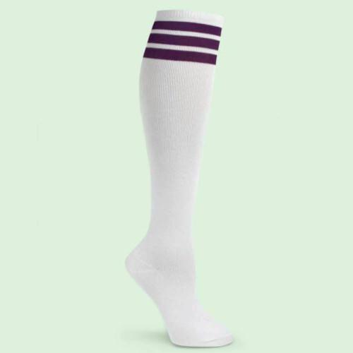 Spotlight Retro School Stripe Knee Socks-FREE SHIP