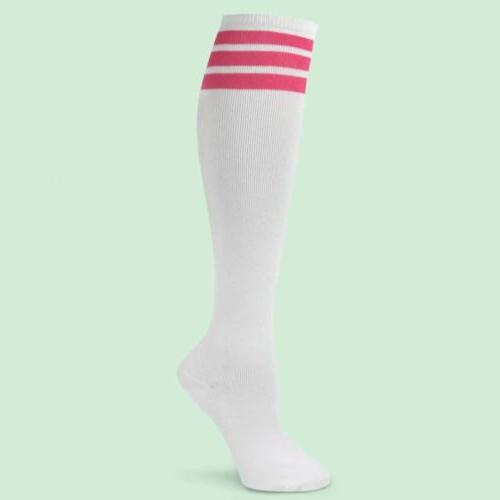 Spotlight Retro Old School 80s Roller Stripe Socks-FREE SHIP