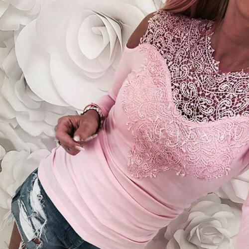 USA HOT Solid Cold Long Top T-Shirt