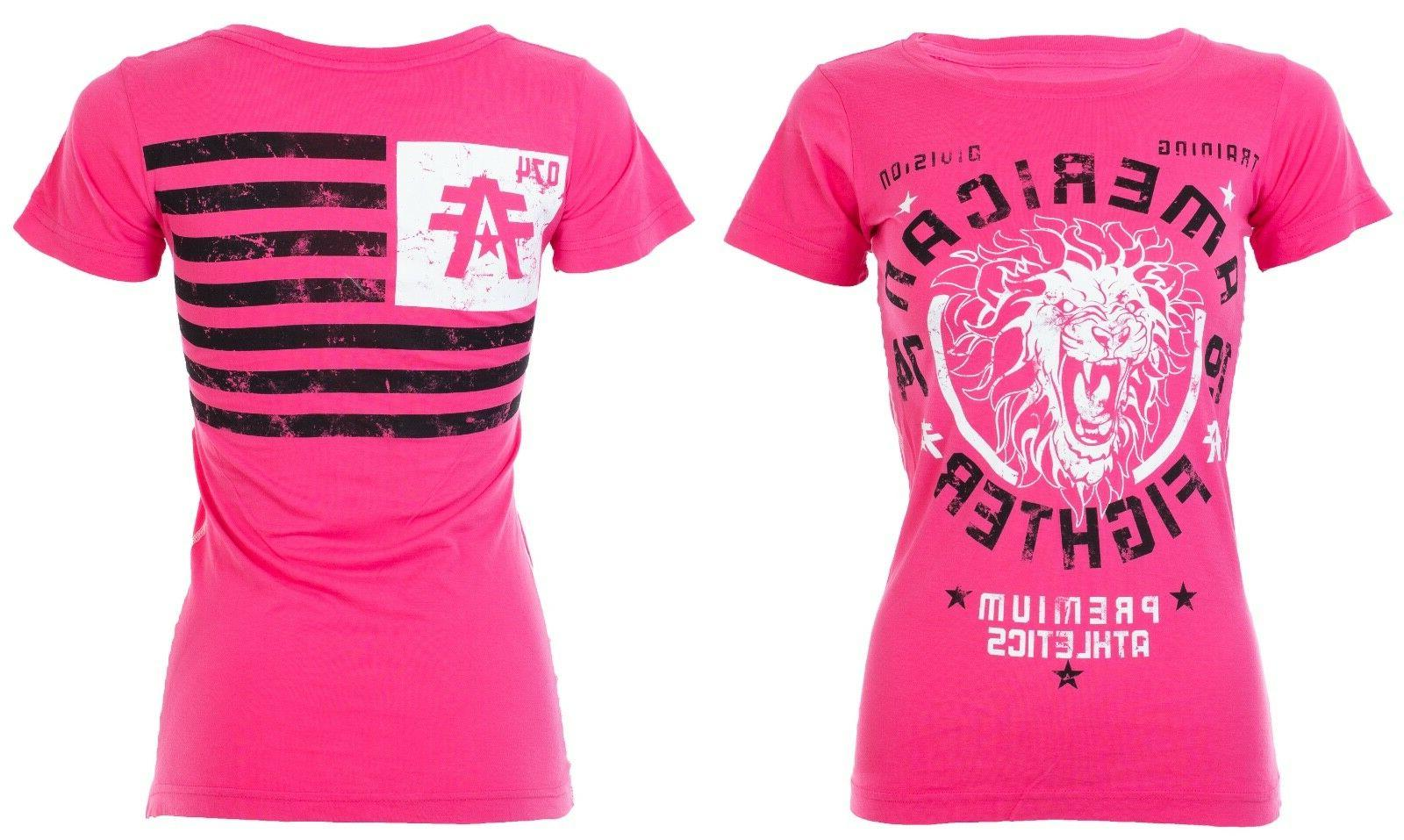 womens t shirt columbia athletic hot pink