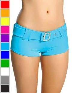 New Roma Costume SH101 Booty Shorts With Belt