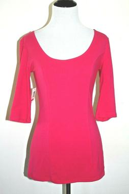 NWT Ladies/Junior's Smoking Hot Pink Summer Top size M