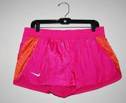 NWT Nike Women's Hot Pink Cotton Lined Running Shorts, Style