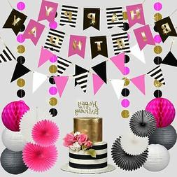 Premium Happy Birthday Decorations Party Set Kit for Women G
