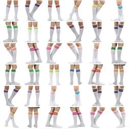 Spotlight Hosiery Retro Old School 80s Roller Skate Stripe K
