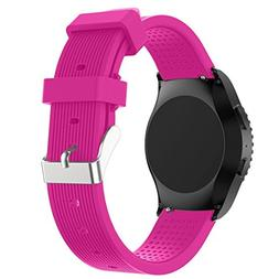 AutumnFall New Fashion Sports Silicone Bracelet Strap Band f