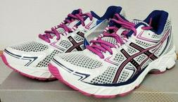 Womens ASICS GEL - EQUATION 7 sneaker white/black/hot pink